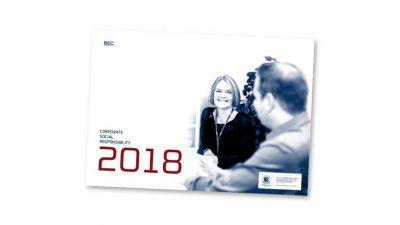 CSR-rapport 2018 – status på BEC's arbejde med samfundsansvar